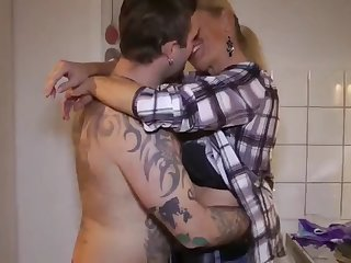 nonconformist milf seduces and fucks her new young roommate challenge