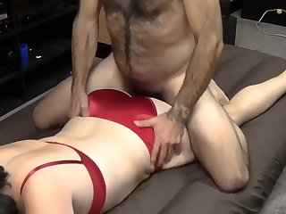 satin creampie dominance