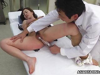 maria ono receives a proper pussy treatment in the hospital