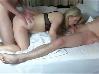 naughty and busty mature milf likes hardcore threesome sex