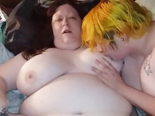 bbw slut three way
