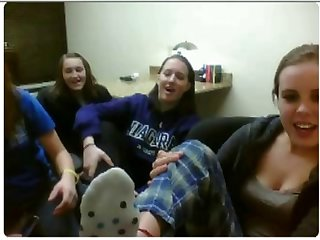 chatroulette girls feet 46