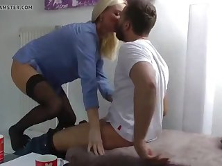 sexy wife loves her young neighbor